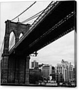 The Brooklyn Bridge New York City East River Canvas Print