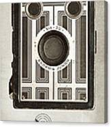 The Brownie Junior Six-20 Camera Canvas Print