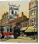 The Brunswick 1916 Canvas Print