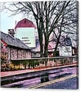 The Bucks County Playhouse Canvas Print