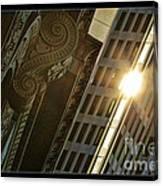 The Building Twightlight Canvas Print