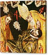 The Burial Of Count Orgaz Canvas Print