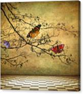 The Butterfly Room Canvas Print