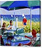 The Cabana Club Canvas Print