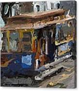 The Cable Car Canvas Print