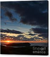 The Calf From A Hilltop In Twilight I Canvas Print