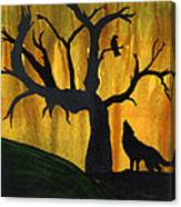 The Call And Response Of The Wild Canvas Print