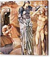 The Call Of Perseus, C.1876 Canvas Print