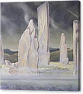 The Callanish Legend Isle Of Lewis Canvas Print