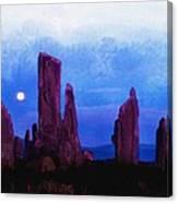 The Callanish Stones Scotland Canvas Print
