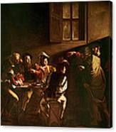 The Calling Of St Matthew Canvas Print