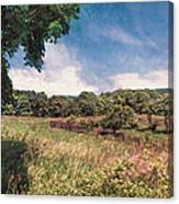 The Calling Of Summer Fields Canvas Print