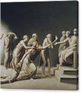 The Calumny Of Apelles Canvas Print