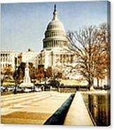 The Capitol Building Canvas Print