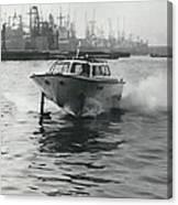 The �captain�s Barge� - 1963 Version Canvas Print