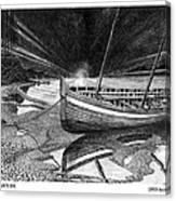 Captain Vancouvers Gig Canvas Print