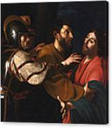 The Capture Of Christ Canvas Print