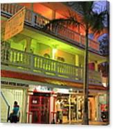 The Caribbean Hotel Canvas Print