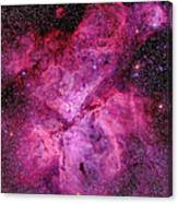 The Carina Nebula In The Southern Sky Canvas Print
