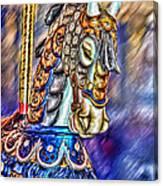 The Carousel Horse Canvas Print