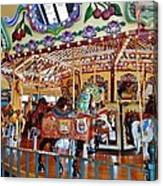 The Carousel Ride Canvas Print