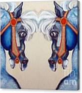 The Carousel Twins Canvas Print