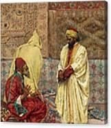 The Carpet Bazaar Canvas Print
