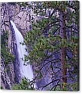 The Cascades Yosemite Np Canvas Print