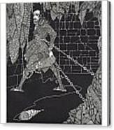 The Cask Of Amontillado Canvas Print