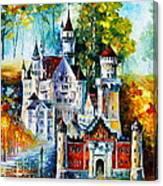 The Castle Of 4 Seasons Canvas Print
