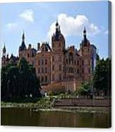 The Castle Of Schwerin Canvas Print