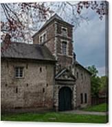 The Castle Of Vert-bois Bondues Canvas Print