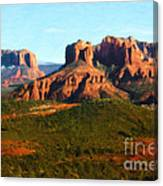 The Cathedral Complex Canvas Print