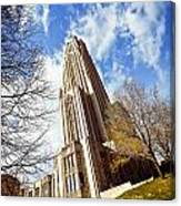 The Cathedral Of Learning 1 Canvas Print