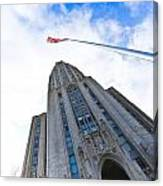 The Cathedral Of Learning 4 Canvas Print