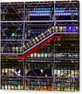 The Centre Pompidou II-paris Canvas Print