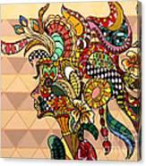 The Chameleon - L Canvas Print