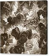 The Chaos, Engraved By Bernard Picart Canvas Print