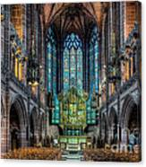 The Chapel Canvas Print