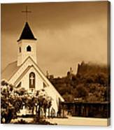 The Chapel At The Supes  Canvas Print