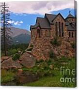 The Chapel On The Rock Canvas Print