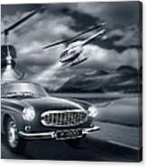 The Chase 2 Canvas Print