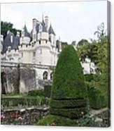 The Chateau's Towers View Canvas Print