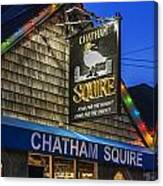 The Chatham Squire Canvas Print