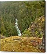 The Cheakamus River Gorge Canvas Print