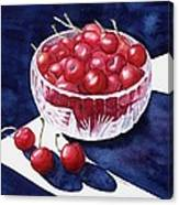 The Cherry Bowl Canvas Print