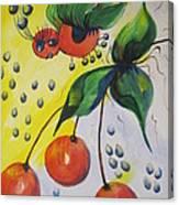 The Cherry Fairy Canvas Print