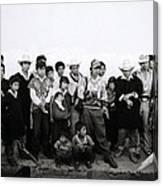 The Chiapas People Canvas Print
