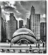 The Chicago Bean II Canvas Print