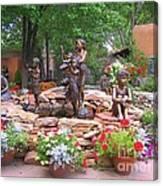 The Children Sculpture Garden - Santa Fe Canvas Print